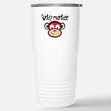Funky Monkee Stainless Steel Travel Mug