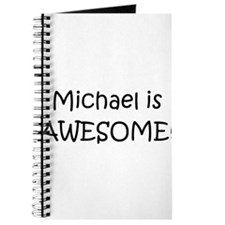 Cute Michael awesome Journal