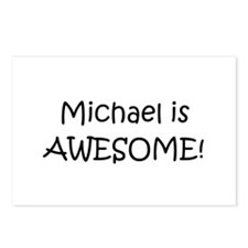 Cute Michael awesome Postcards (Package of 8)