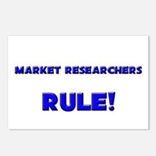 Market Researchers Rule! Postcards (Package of 8)