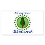 Earth Steward 2 Rectangle Sticker 10 pk)