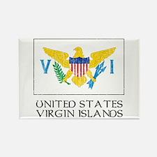 US Virgin Islands Flag Rectangle Magnet