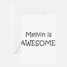 Cute Melvin Greeting Card