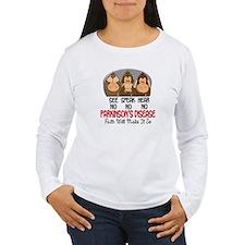 See Speak Hear No Parkinsons 1 T-Shirt