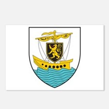 Galway Coat of Arms Postcards (Package of 8)