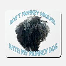 Monkey Dog Mousepad