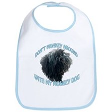Monkey Dog Bib