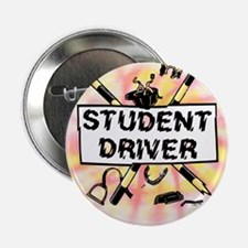"""Student Driver 2.25"""" Button"""
