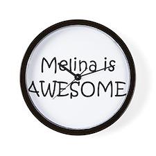 Cute Melina Wall Clock