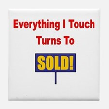 Turns to sold!!! Tile Coaster