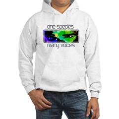 One Species Many Voices Hoodie