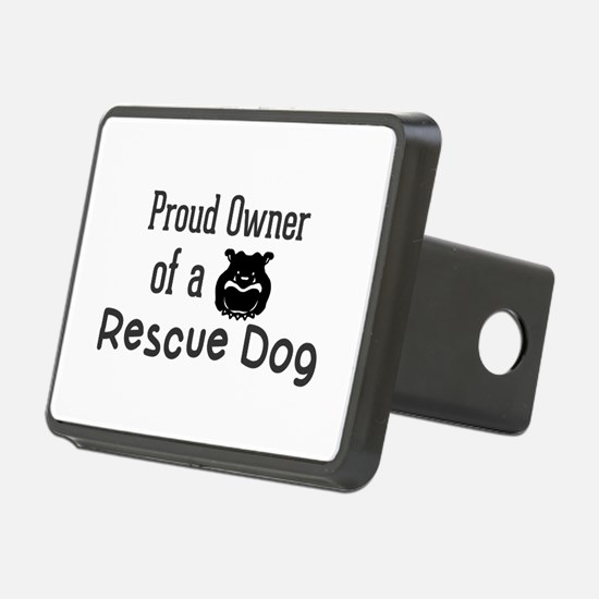 Proud Owner of a Rescue Do Hitch Cover
