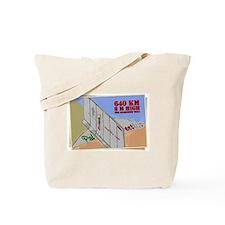 Apartheid wall Tote Bag