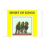 horse racing gifts t-shirts Postcards (Package of