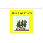 horse racing gifts t-shirts Large Poster