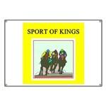 horse racing gifts t-shirts Banner