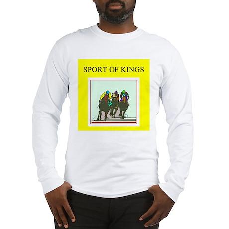 horse racing gifts t-shirts Long Sleeve T-Shirt