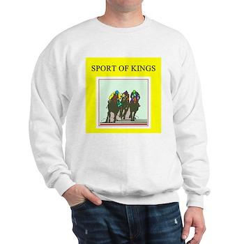 horse racing gifts t-shirts Sweatshirt