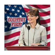 Country First Tile Coaster