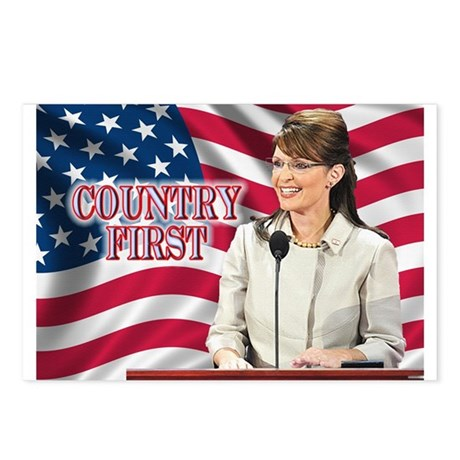 Country First Postcards (Package of 8)