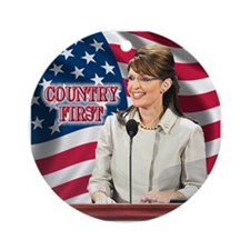Country First Ornament (Round)