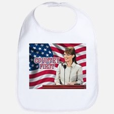 Country First Bib