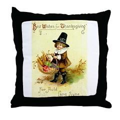 Irish Thanksgiving Throw Pillow