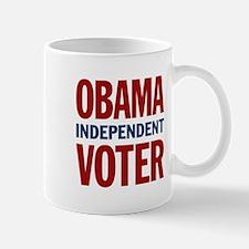 Obama Independent Voter Mug