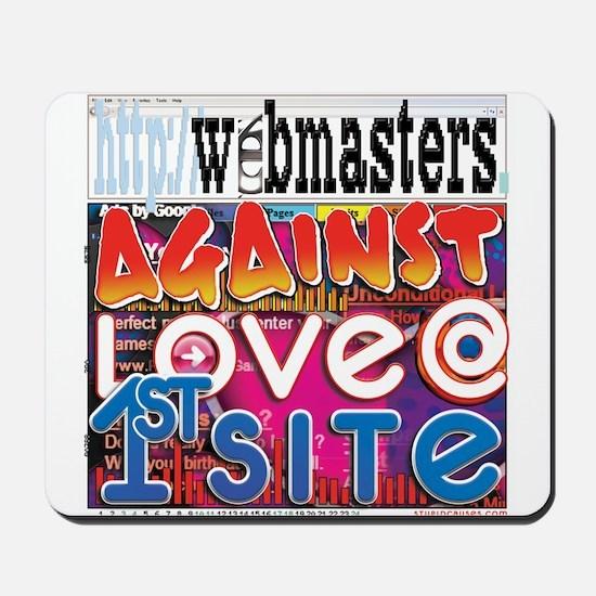 Webmasters Against Love @ 1st Mousepad