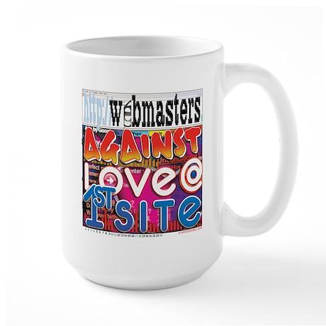 Webmasters Against Love @ 1st Large Mug