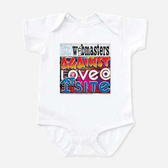 Webmasters Against Love @ 1st Infant Bodysuit