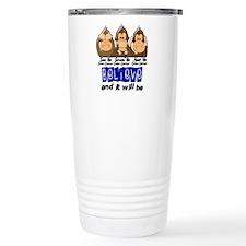 See Speak Hear No Colon Cancer 3 Travel Mug