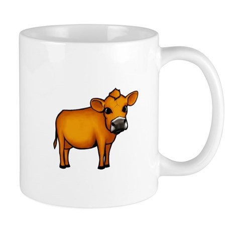 Golden Cow Mug