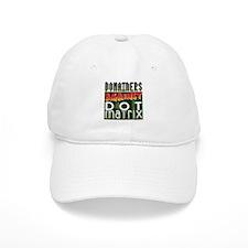 Domainers Against Dot Matrix Baseball Cap