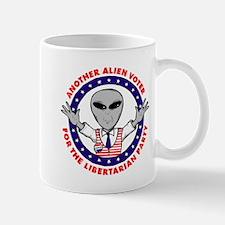 Alien Libertarian Voter Mug