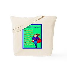 D.I.R.E.C.T.O.R. Child Care Director Tote Bag