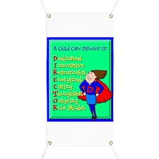 D.I.R.E.C.T.O.R. Child Care Director Banner