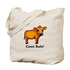 Cows Rule! Tote Bag