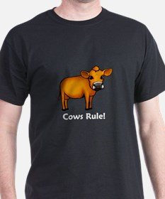 Cows Rule! T-Shirt