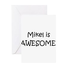 Cool Mikel Greeting Card