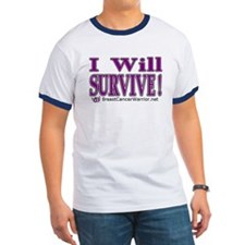 "BC Warrior ""I WILL SURVIVE"" t'shirt"