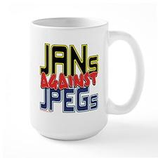 JANs Against JPEGs [SWAG] Mug