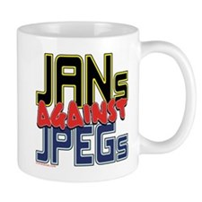 JANs Against JPEGs [SWAG] Small Mug