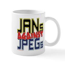 JANs Against JPEGs [SWAG] Small Small Mug