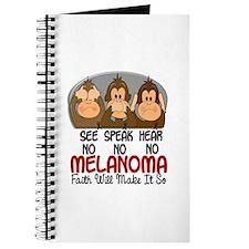 See Speak Hear No Melanoma 1 Journal