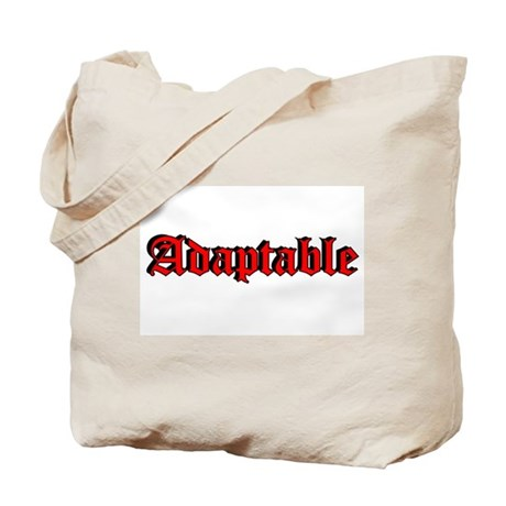 """Adaptable"" Tote Bag"