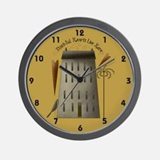 Thankful Hearts Live Here 1 Wall Clock