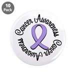 """General Cancer Awareness 3.5"""" Button (10 pack"""