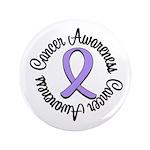 "General Cancer Awareness 3.5"" Button"
