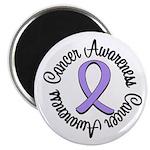 "General Cancer Awareness 2.25"" Magnet (10 pac"